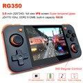 Handheld Spielkonsole RG350 Retro Spiel Konsole Öffnen Dingux Tony System  freies mit 32G TF Karte eingebaute 2500 Klassische Spiel Conso-in Portable Spielkonsolen aus Verbraucherelektronik bei