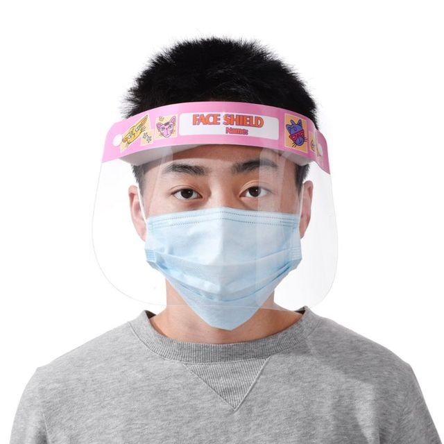 1/3/5pcs Child All-Purpose Face Shield Protective Mask Anti-Saliva Protective Hat Transparent Protective Face Mask Protect Safet 4