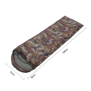 Image 2 - Umschlag Art Schlafsack Spleißen Camouflage Military Tragbares Outdoor Wandern Schlafsäcke Licht Herbst Camping Schlaf Getriebe