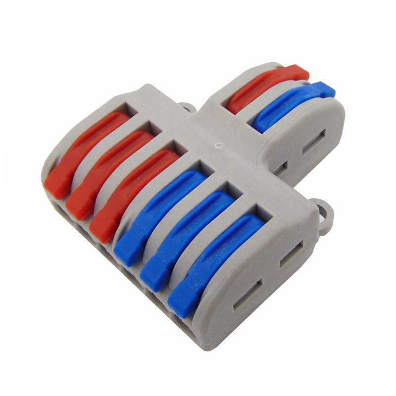 المدمجة سلك موصل الأسلاك موصل محطة كتلة مع ليفر 0.08-2.5mm2 214 218 222 412 222 413 222 415 SPL-2 3