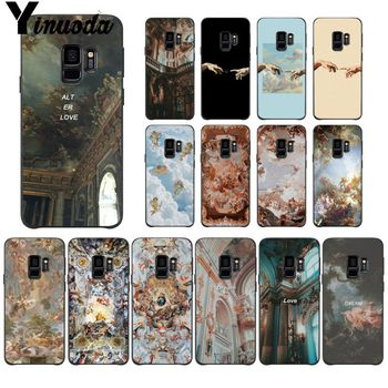 palace of versailles The Creation of Adam Phone Case For Samsung Galaxy s5 s8 s9 s10 plus S10 E lite S10-5G S20 UITRA Mobile image