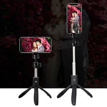 Bluetooth Wireless Remote Extendable Selfie Stick Tripod Mount Stand Rack _WK