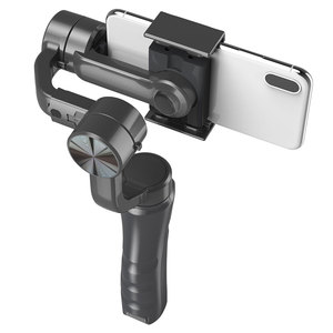 Image 4 - 3軸ハンドヘルドジンバルスマートフォンスタビライザーusb充電ビデオ録画のサポートユニバーサル調節可能な方向vlogライブ