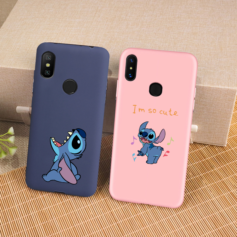 Cartoon Cute Stitch <font><b>Phone</b></font> <font><b>Case</b></font> for <font><b>Samsung</b></font> Galaxy A6 A7 A8 A9 J4 J6 J8 J2 Pro 2018 Plus A3 <font><b>A5</b></font> A7 <font><b>2016</b></font> 2017 Silicone Cover Coque image