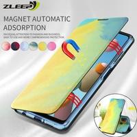 Custodia magnetica per Xiaomi Poco X3 M3 10 T Lite Redmi 6 7 7A 8 8A 9 9A 9C 9T nota 10S 10 9 9S 8 8T 7 6 5 Pro Max Flip Phone Cover