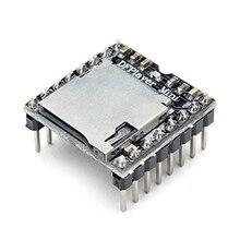 10 Stks/partij Dfplayer Mini MP3 Speler Module MP3 Voice Module Voor Arduino Tf kaart En Usb Disk U Disk io/Seriële Poort/Ad