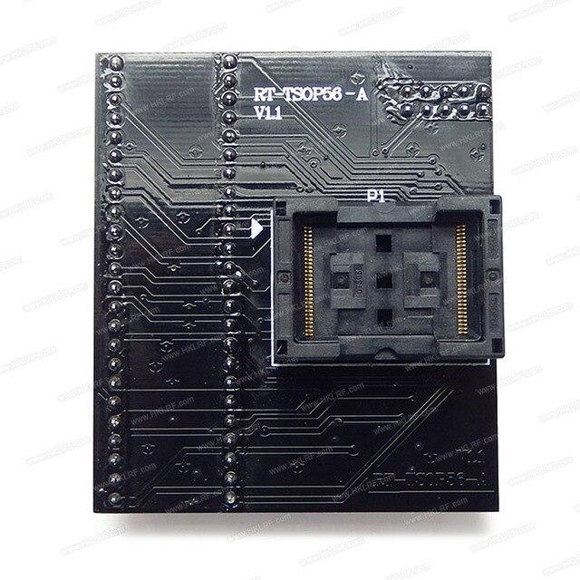 مقبس محول TSOP56 أصلي جديد لـ مبرمج RT809H RT TSOP56 A V1.1 جودة عالية شحن مجاني إليكتروني
