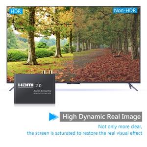 Image 5 - LiNKFOR HDMI 2.0 Audio Extractorรองรับ4K 60Hz YUV 4:4:4 HDR HDMIอะแดปเตอร์แปลงHDR HDMI To Optical TOSLINK SPDIF