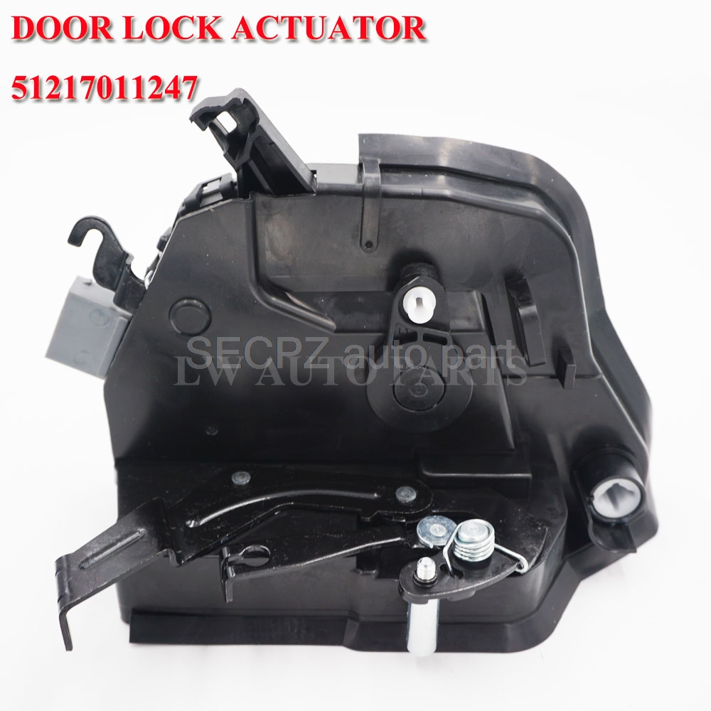 for BMW E46 325Ci 323Ci 328ci 330ci m3 Front Left Driver Door Lock Actuator Locks Mechanism 51 21 7 011 247 51217011247 image