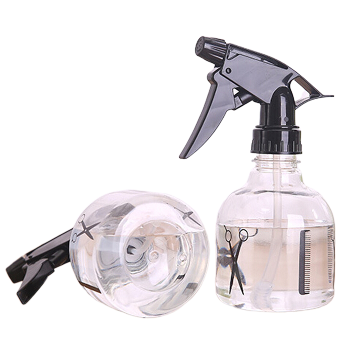 1pc 250ml Travel Empty Spray Bottle Transparent Plastic Perfume Atomizer Sprayers For Hairstyling Garden Moisturizing