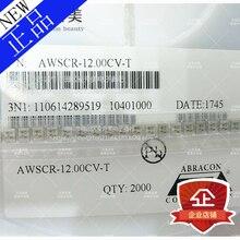 Em estoque Novo 100% Original 10 pçs/lote ABRACON AWSCR-12.00CV-TCER RES 12.0000MHZ 22P