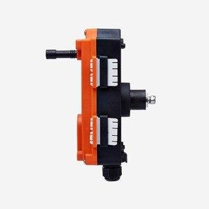 Image 3 - 무료 배송 호이스트 크레인 8 채널 컨트롤러 2 송신기 1 수신기에 대한 산업용 무선 원격 제어 f21 e1b