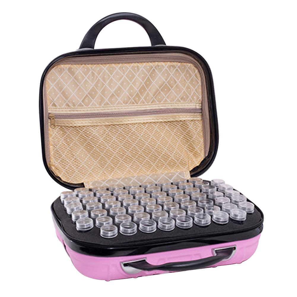 Essential Oil Bottle Storage Bag 132 Grid Essential Oil Carrying Case Holder Travel Portable Nail Polish Organizer Storage Bag in Cosmetic Bags Cases from Luggage Bags
