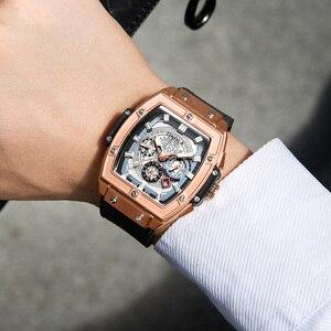 Image 5 - ONOLA tonneau Automatic Mechanical นาฬิกาผู้ชายแบรนด์หรูที่ไม่ซ้ำนาฬิกานาฬิกาข้อมือแฟชั่นนาฬิกา Casual CLASSIC designer นาฬิกาชาย