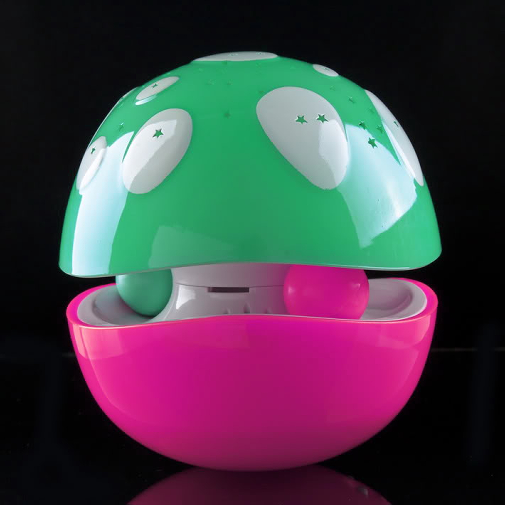 100% Harmless High QualityABS Projector Lamp Music Mushroom Tumbler Colorful Constellation Projection Lamp