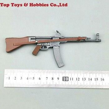 цена на 16cm Guns Weapon Model Collections 1/6 Scale MP44 Plastic Machine Gun Model Soldier Figure Weapon Toys