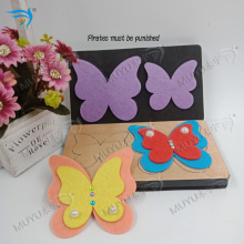 Double layer butterfly DIY Wooden dies cutting  fit Scrabooking MY3802