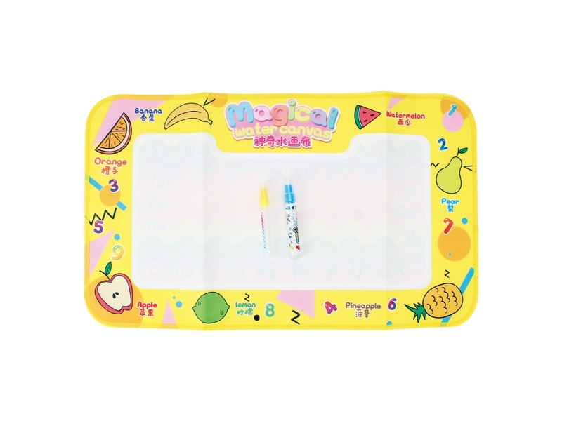 Children Magic Canvas Multi-functional Water Write Graffiti Fruit Canvas Infants Educational Early Childhood Toy