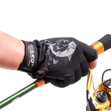 Fishing-Gloves Carp Anti-Slip Winter 3 for Unisex 1-Pair Quick-Drying Breathable