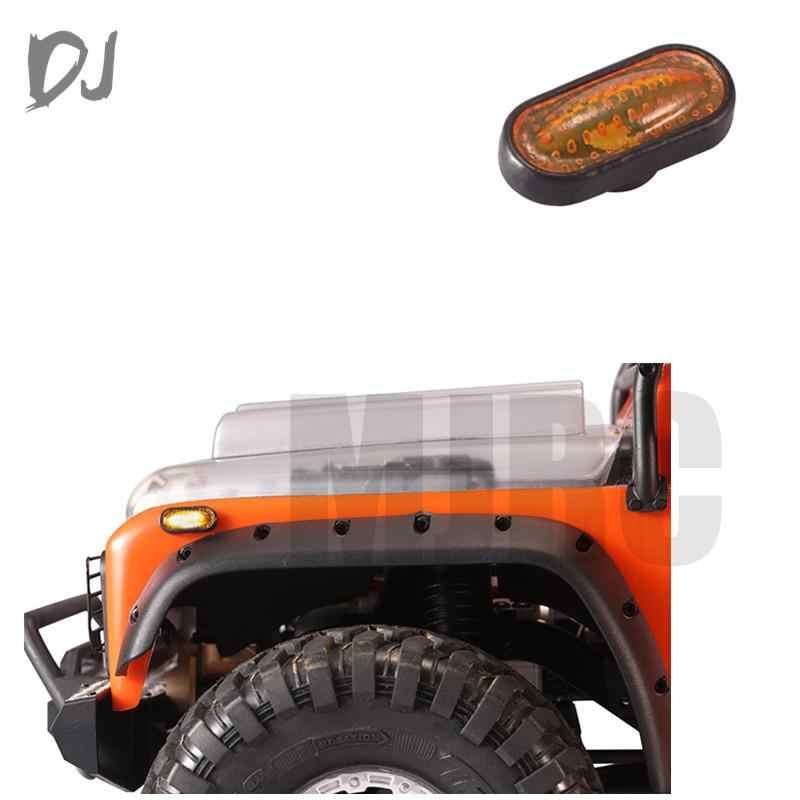1 Uds adecuado para 1/10 de 1/8 modelo de simulación coche TRAXXAS TRX4 D90 D110 RC4WD SCX10 90046 RR10 90053 AXIAL de señal