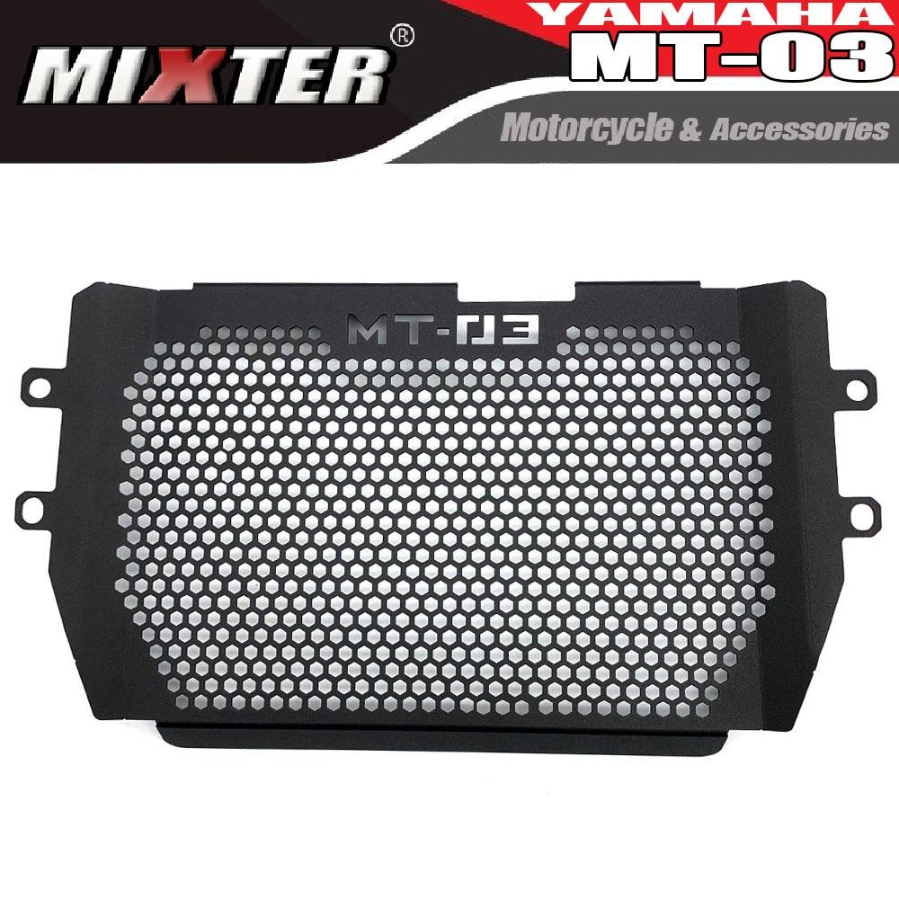 Алюминиевая защитная крышка радиатора для мотоцикла, защитная крышка радиатора для телефона MT03, MT25, MT-03 2015-2020, MT 03, MT 25, 15-'20