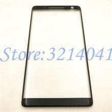 """מסך חיצוני 5.5 """"עבור Nokia 8 חמסין קדמי לוח מגע LCD תצוגת החוצה זכוכית כיסוי עדשה להחליף חלק"""