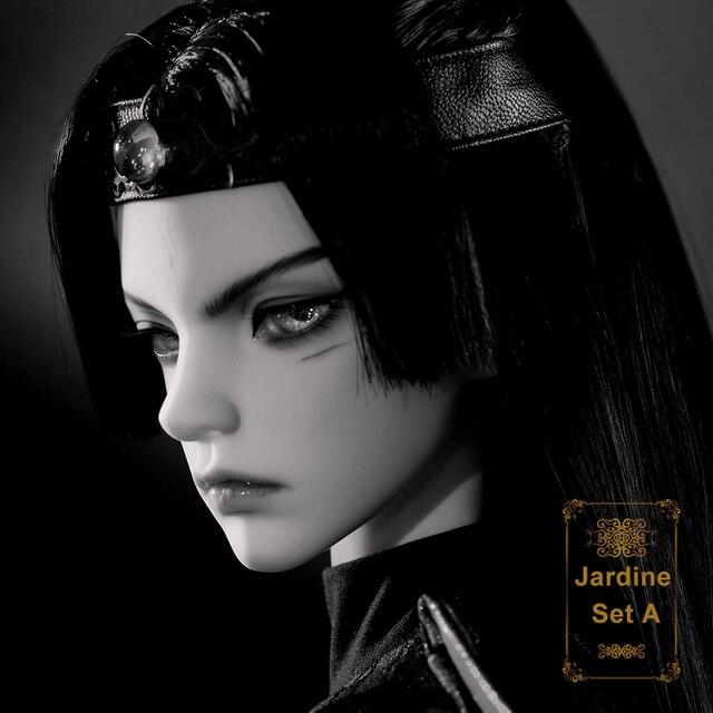 Jardine Doll BJD 1/3 바디 모델 소년 소녀 고품질 수지 장난감 패션 샵