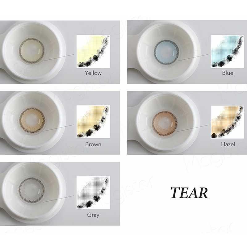 LACRIMA Serie Colorato Lenti A Contatto Lenti A Contatto di Colore Ogni Anno 14.2 millimetri Bella Allievo Occhi Decorazione di Colore Contatti