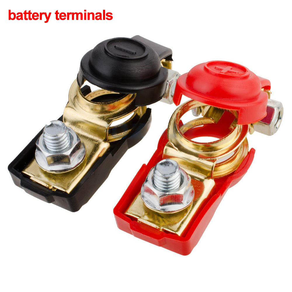 2Pcs <font><b>Car</b></font> Caravan Auto <font><b>Car</b></font> Battery Pair of Quick Release Battery Terminals Battery Terminal Connector Clamps Oc26 image