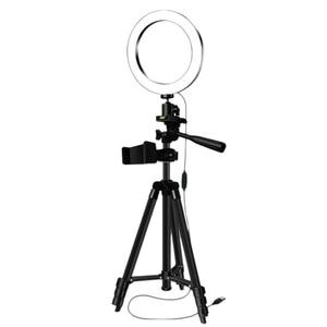 Image 1 - Chân Máy Chụp Hình Selfie Kèm Vòng Lấp Đầy Ánh Sáng Mờ Vòng Đèn Led Studio Camera Vòng Ánh Sáng Điện Thoại Hình Video Đèn