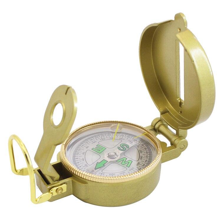 В соответствии с американским Стиль складной стол с зеркалом заднего вида увеличительное Стекло мульти-функциональный шнурок для бейжда компас на открытом воздухе для детей Dc45-3a