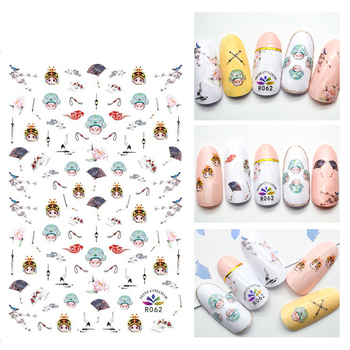 3D Stickers for Nails Cool drama Nail Sticker Slider Foil Decals Nail Art Decorations Manicure Accessories image