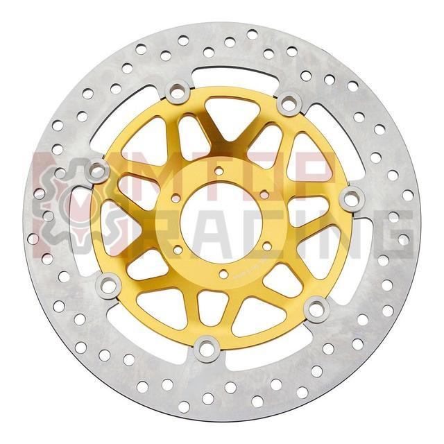 Disque de frein avant pour Honda CBR600F | 1 paire, 1995 1996 1997 1998) (1994 1995 1996), Rotors de frein or