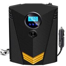 Eafc Draagbare 150PSI Auto Tire Inflator Digitale Screen Luchtcompressor Pomp Met Led Licht DC12V Pomp Voor Auto Motorfiets
