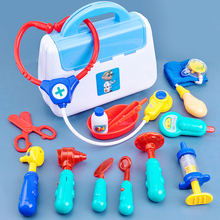 Kids Doctor Kits Pretend Toys Boys Girls Medical Set Doctor Nurse Role Play Game Thermometer Toys For Children Girls Play House