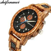 Shifenmei Watches Men Top Luxury Brand Wood Watch