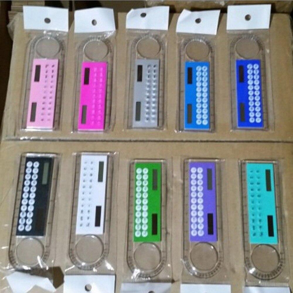 0CM Solar Transparent Ruler Calculator with Magnifier Student