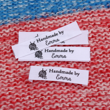 Sewing-Labels Custom Personalized Cotton Brand Organic MD3029
