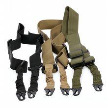 Тактический 2 точки пистолет sling ремень airsoft Банджи винтовка