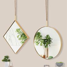 Круглые декоративные зеркала в скандинавском стиле для стен