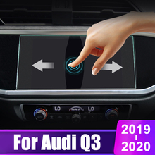 For Audi Q3 2019 2020 Auto Tempered Glass Car GPS Navigation Screen Protector Display Film LCD Protective Sticker Anti Scratch