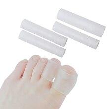 Sumifun/2 шт. гелевые трубки для защиты пальцев и пальцев ног, защита ног от боли, защита для ног, стельки для ухода за ногами, массажер, забота о здоровье, C1488