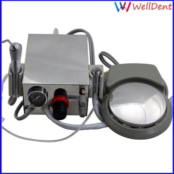 Dental Turbine Unit Lab Aluminum alloy Portable one Air Compressor 3 way straw for dentist Dental Instrument