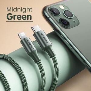 Image 5 - Ugreen mfi usb c para relâmpago iphone carregador cabo para iphone 12 mini pro max 8 pd 18w 20w cabo de dados de carregamento rápido para macbook