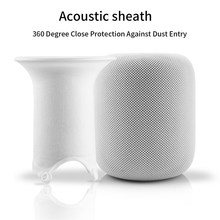 Case Textile Net Dustproof Easy Install Smart Speaker Use Portable Protective Cover Accessories Mesh Replacement For HomePod(China)