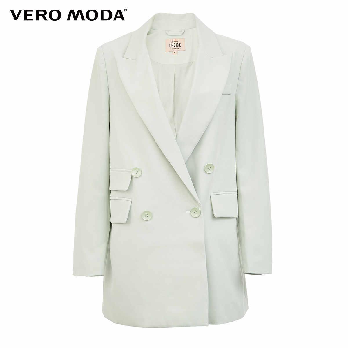 Vero Moda Mới Ins Nữ Phong Cách Hình Chữ H Ve Áo Đôi Ngực Phù Hợp Với Áo Khoác | 319308590