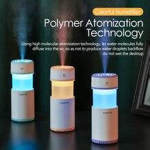 Увлажнитель воздуха устраняет статическое электричество чистый воздух уход за кожей нано спрей технология немой дизайн 7 цветов огни автомобиль офис автомобильный для автомобиля в машину