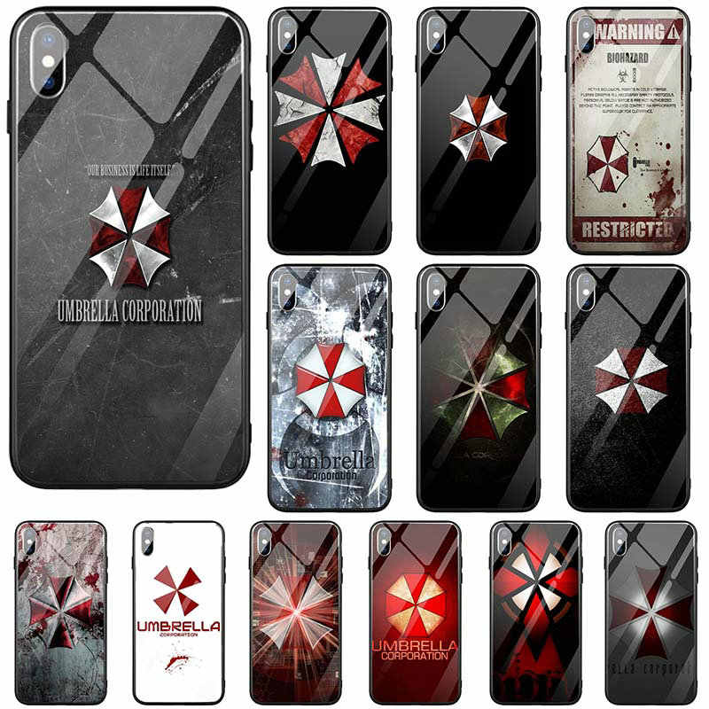 Hard Tempered Glass Cover Mobile Phone Cases For Iphone X Xr Xs