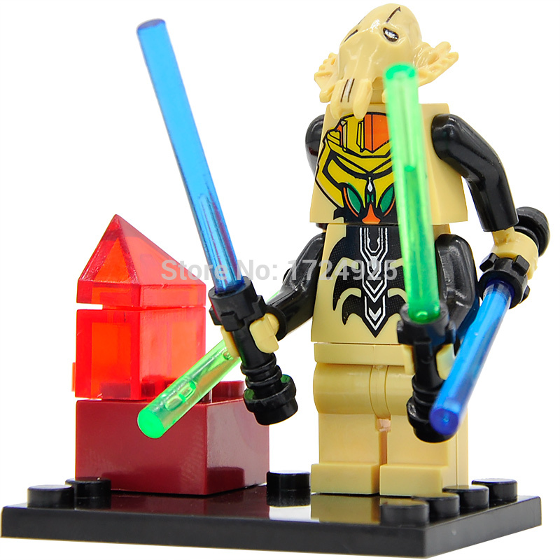 Single Sale Starwars General Figure Building Block The Force Awakens Set Star Wars Models Bricks Toys Legoing