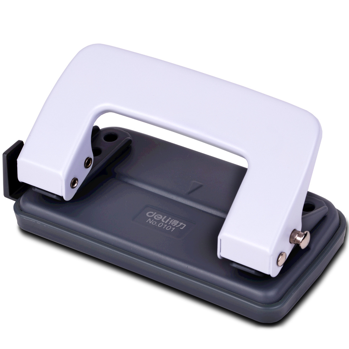 Deli 0101 Office Supplies Drilling Machine Two-Hole Punch Impress Maker To Play 10 Copy Paper